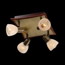 Люстра-спот с поворотными плафонами 1454/4 AB