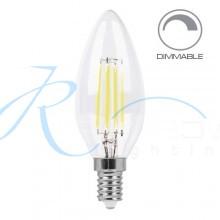 Светодиодная лампа Feron LB-68 E14 4W 2700K диммируемая