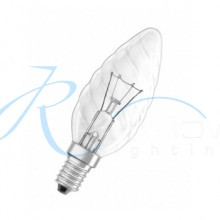 Лампочка «шишка» прозрачная Е-14