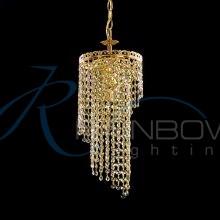 Подвес хрустальный золото 50119/1p FG/NC