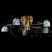 Люстра потолочная с плафонами 19800/5+1 FG