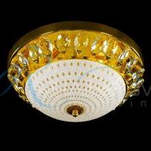 Люстра потолочная золото малая 2943/4-350 FG