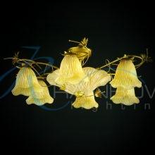 Люстра потолочная с плафонами MDS 6741/6+3 YL