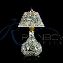 Настольная лампа 012/2T SILVER
