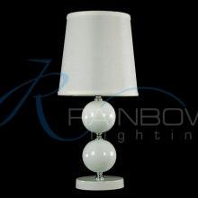 Настольная лампа с абажуром 090T-W WT