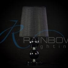 Настольная лампа чёрная 091/1T BK