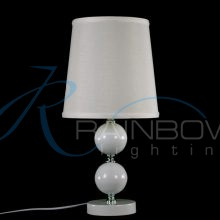 Настольная лампа белая 091/1T WT