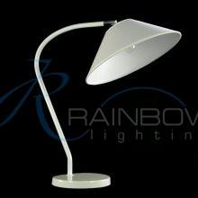 Настольная лампа с абажуром 106/1T WT