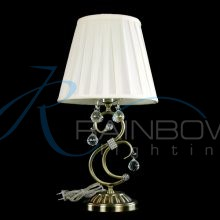 Настольная лампа классика с абажуром 136/1T AB