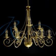 Люстра под свечку 1689/6+3 GS