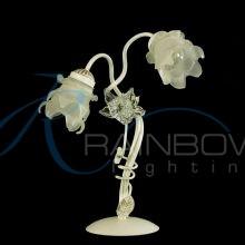 Настольная лампа с плафонами 2236/2T WT/PAT