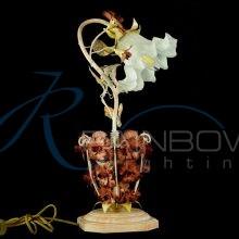 Настольная лампа флористика 2239/1Т