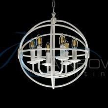 Люстра лофт орбита 3826/6 WT