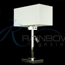 Настольная лампа с абажуром 7102/2T CH