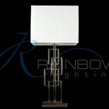 Настольная лампа с абажуром 7103T CH