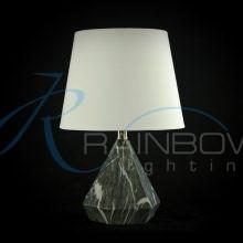 Настольная лампа с абажуром 3974/1T