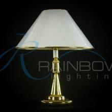 Настольная лампа с абажуром T-0180/1T FG