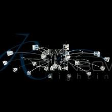 Люстра потолочная с пультом DZ 4214/21A CR/WT