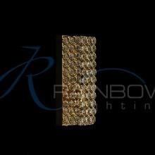 Бра хрустальное золото 30596/1w FG