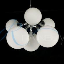 Люстра молекула хром 4086/6 CR