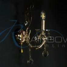 Бра хрустальное 50134/1w FG/NC