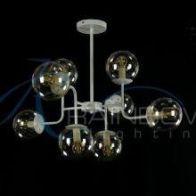 Люстра лофт с плафонами 4161/8 WT/NC