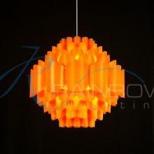 Люстра-подвес оранжевая 2814/1p M OR