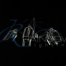 Люстра с плафонами 4164/5 CR/SM