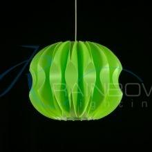 Подвес из пластика зеленый 2816/1M GN