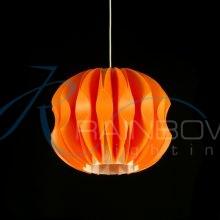 Подвес из пластика оранжевый 2816/1p M OR