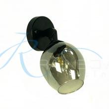 Бра с плафоном чёрное с графитом 4057/1w BK/SM