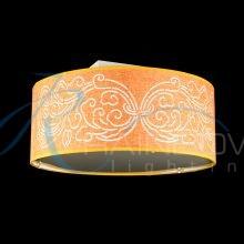 Потолочная люстра — абажур оранжевая 1050/21 OR