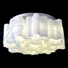 Люстра потолочная с плафонами белая 4087/8+1 WT