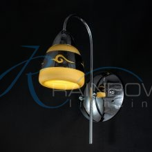 Бра с плафоном хром 20006/1w CR
