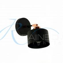 Бра черное с поворотным плафоном 4138/1w BK