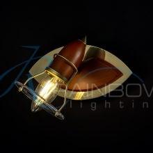 Бра-спот поворотное золото 61013/1 S-E SB