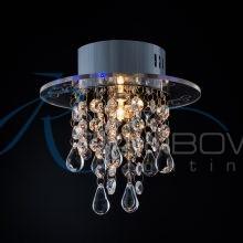 Накладной точечный светильник хром 1413/1 CR
