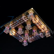 Люстра потолочная на 3 режима 1639/16 FG