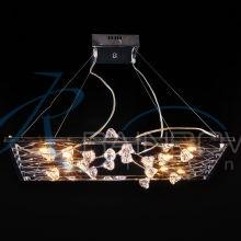 Люстра подвесная над столом хром 3097/10 CR/WT