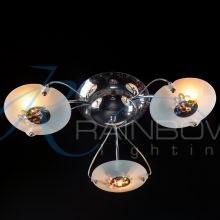 Люстра потолочная с плафонами хром VV 1074044/3 CR