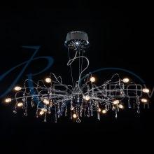 Люстра подвесная хром VV 30053/18 CR