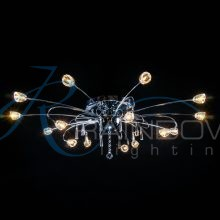 Люстра потолочная хром VV 30063/15 CR