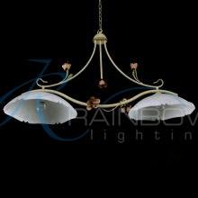 Подвесной светильник на 2 плафона флористика 1304/2