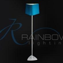 Торшер с абажуром голубой 3963/1F BW