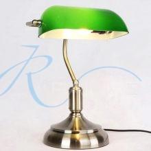 Настольная лампа «Банкирская» 571/1T AB/GN