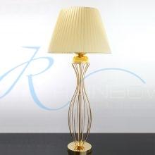 Лампа с абажуром золото 064/1T FG
