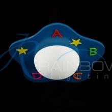 Светильник детский голубой 7078 A BL