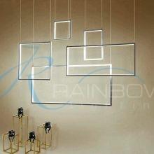 Люстра LED хром 4329/Φ96*30*H105 CR