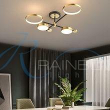 Люстра потолочная LED на 3 режима свечения малая 4583/4