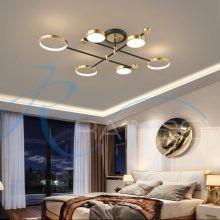 Люстра потолочная LED на 3 режима свечения средняя 4583/6